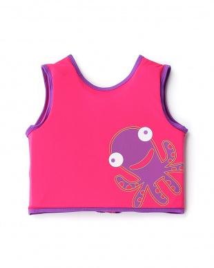ピンク  シースクワッド スイムベスト・ステップ2|KIDS見る