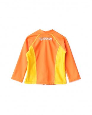 オレンジ  ベビーアクアシャツ|BABY見る