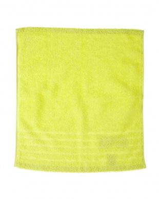 グリーン  速乾・抗菌防臭 部屋干しカラーゲストタオル 2枚セット見る