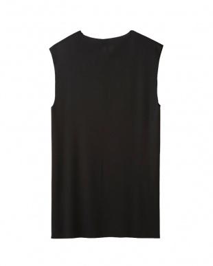 ブラック Vネックサーフシャツ見る