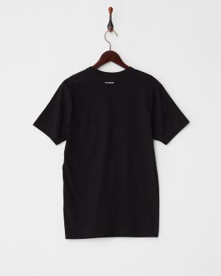 ブラック  ROCK ONプリント レギュラーフィットTシャツ見る