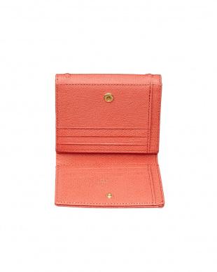 ピンク  ボンボンII 2つ折り財布見る