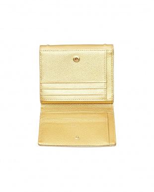 ゴールド  ボンボンII 2つ折り財布見る