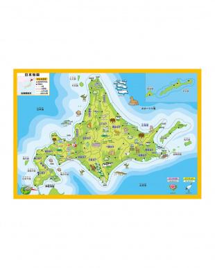 大きな日本地図パズル見る