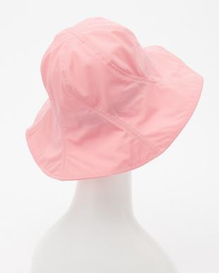 ピンク  はっ水レインハット|WOMEN見る