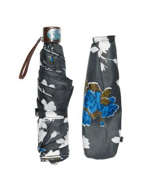 グレー  折りたたみ ミニ傘フラワー|WOMEN見る