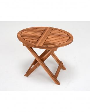 アカシアサイドテーブル 55×40×46cm見る