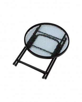 折りたたみ式 テーブル/チェア2脚 セット見る