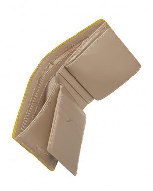 GREY  カイマンクロコダイル 折財布見る