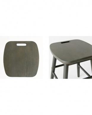 ディープグレイ low stool見る