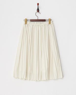グリーン  ランダムプリーツスカート見る