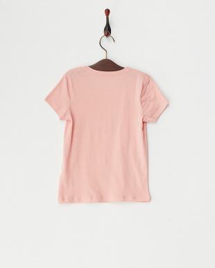 ピンク  TW BASIC CREW プリントTシャツ見る