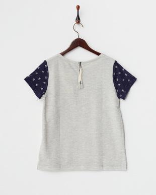 グレー  TENERIFE SEA /M 袖切り替えTシャツ見る
