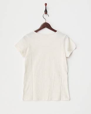 オートミール  天竺コットン半袖Tシャツ見る