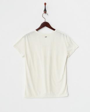 ナチュラル  SUMMER WORD コード刺繍Tシャツ見る