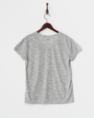 グレー  SUMMER WORD コード刺繍Tシャツ見る