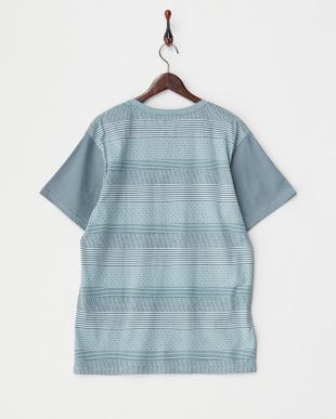 ブルー PENVIL SS Tシャツ見る