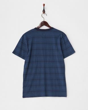 ネイビー  SUPER BANK 半袖Tシャツ見る