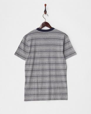 グレー  SUPER BANK 半袖Tシャツ見る