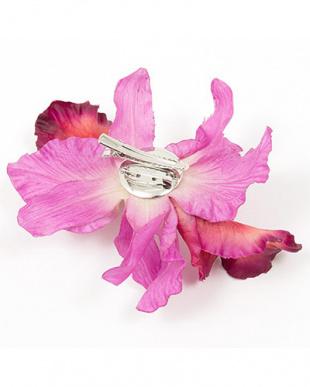 ピンク系 花L髪飾り|WOMEN見る