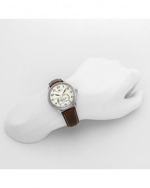 アイボリー Graf Zeppelin オープンハート 自動巻き腕時計見る
