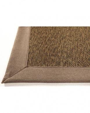 グレー  カナパ ウレタン入り折りたたみ竹ラグ 130×180cm見る