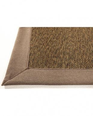 グレー  カナパ ウレタン入り折りたたみ竹ラグ 180×180cm見る