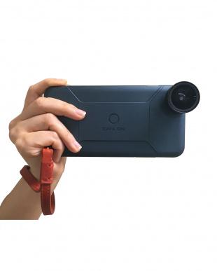 ネイビー  iPhone6/6Sケース&レンズ4点<SMART EDITION SINGLE>見る
