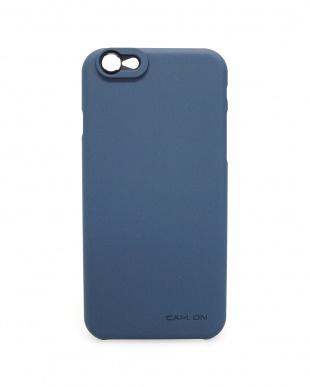 ネイビー  iPhone6/6Sケース&レンズ4点<SMART SLIM CASE>見る