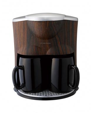 ブラック  2カップコーヒーメーカー見る
