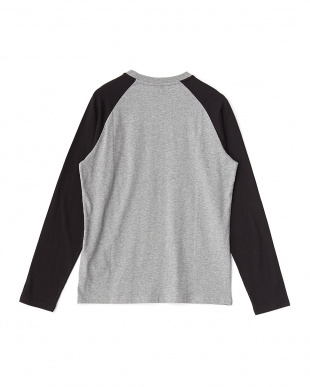 MEDIUM GRAY  ARCHIVE LOGO RAGLAN LS見る