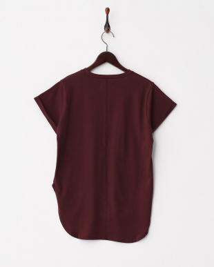 BORDEAUX  PIMACLE STRETCH JERSEY TOP見る