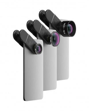 PRO KIT クリップ式スマホ用レンズ3種類セット見る