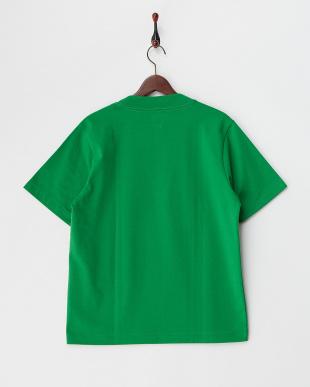 グリーン  ビッグシルエットTシャツ見る
