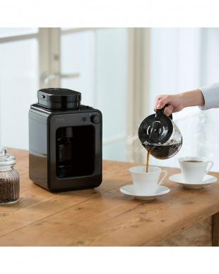 タングステンブラック  siroca crossline 全自動コーヒーメーカー(SC-A121)見る