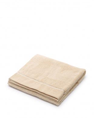 ホワイト/ゴールド バスタオル 2枚セット見る