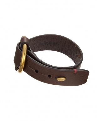 Dブラウン  Vacchetta Bracelet見る