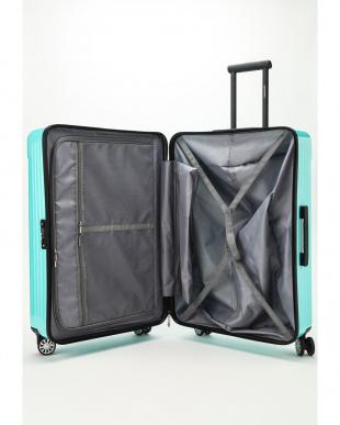 ミントブルー  Zipper型スーツケース 約99L見る