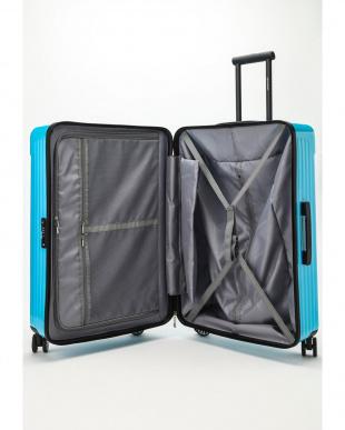 スカイブルー  Zipper型スーツケース 約99L見る