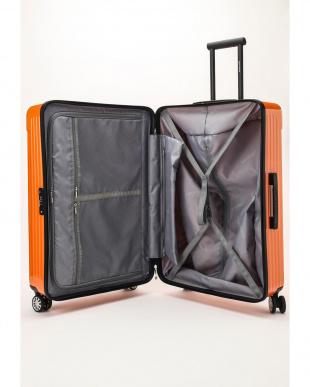 オレンジ  Zipper型スーツケース 約99L見る