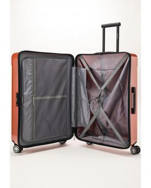コーラルピンク  Zipper型スーツケース 約99L見る