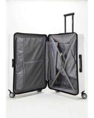 ホワイト  Zipper型スーツケース 約99L見る