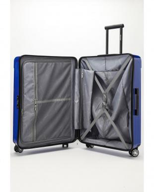 ディープブルー  Zipper型スーツケース 約99L見る