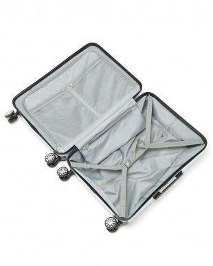 クリスタルパープル  Zipper型スーツケース 約62L見る