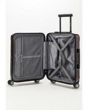 パープル  Zipper型スーツケース 約34L見る