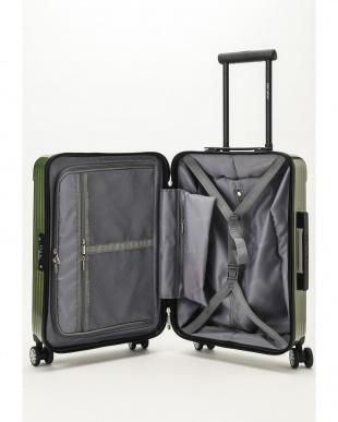 カーキ  Zipper型スーツケース 約34L見る