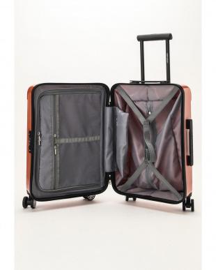 コーラルピンク  Zipper型スーツケース 約34L見る