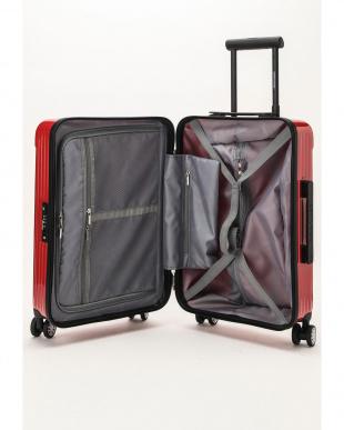 レッド  Zipper型スーツケース 約34L見る