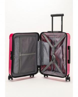 クリスタルピンク  Zipper型スーツケース 約34L見る