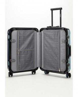 メタリックブルー  Frame型スーツケース 約54L見る
